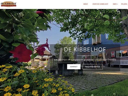De Kibbelhof website